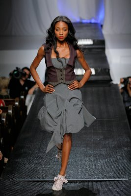 Alexandra Armstrong Igleheart design on the runway