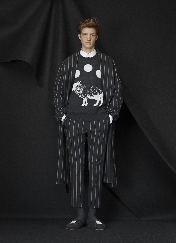 """'Can't Sleep, Count Sheep' Fall/Winter 2015 collection,"" Photo: Munsoo Kwon's website."