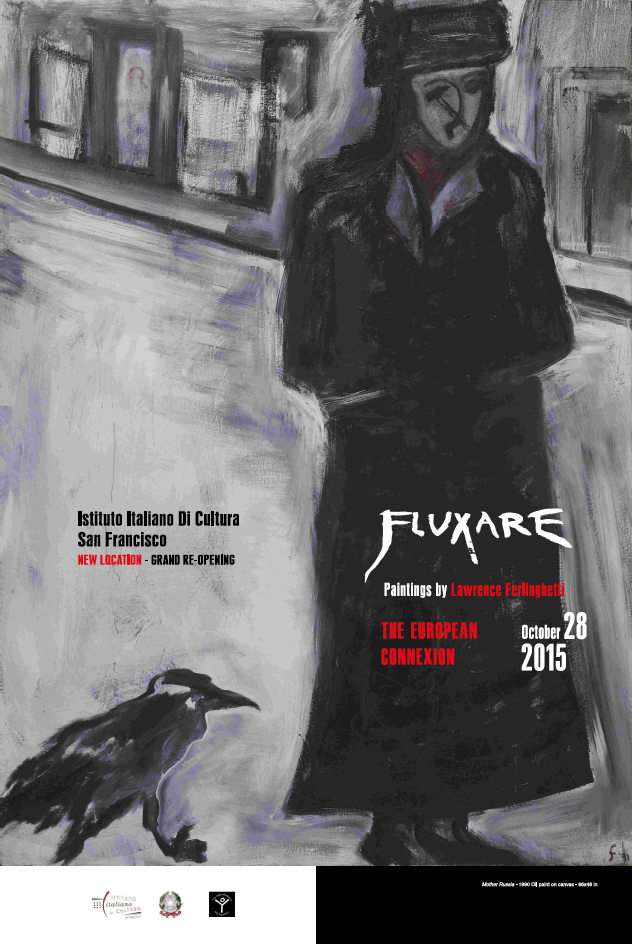 """Fluxare"" poster created by Piero Roccasalvo Rub"