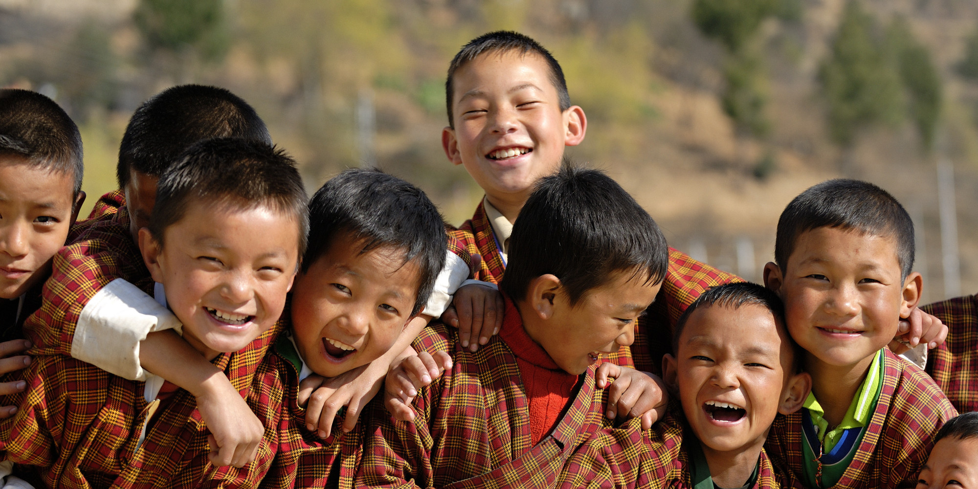 Bhutan, Thimphu, Zilukha junior High school. Via Huffington Post