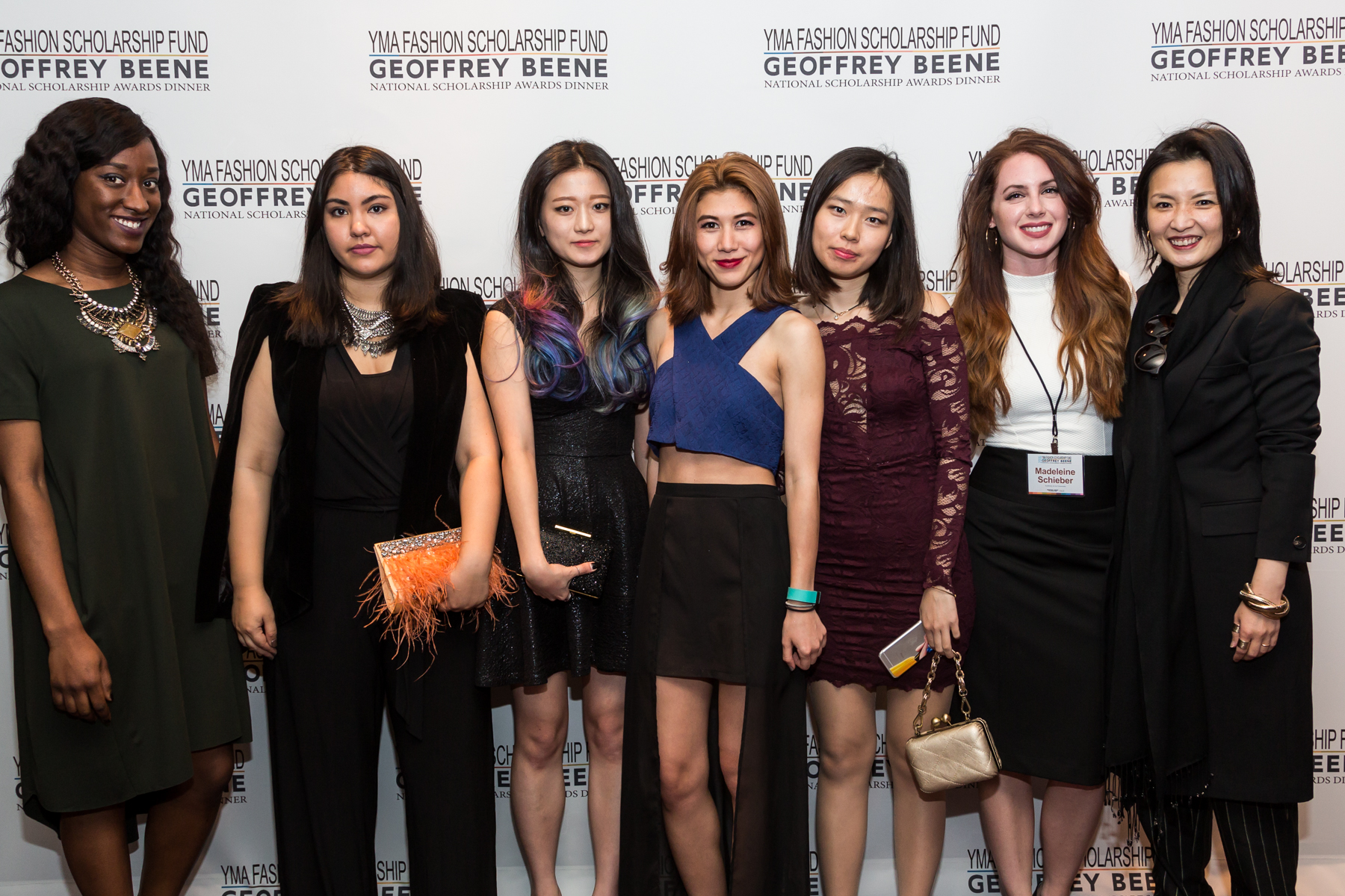 From the left: Kathleen O'Heron, Nathifa Deandrade, Madeline Schieber, Yuna Choi, Busara Boussard, Jisoo Hong.