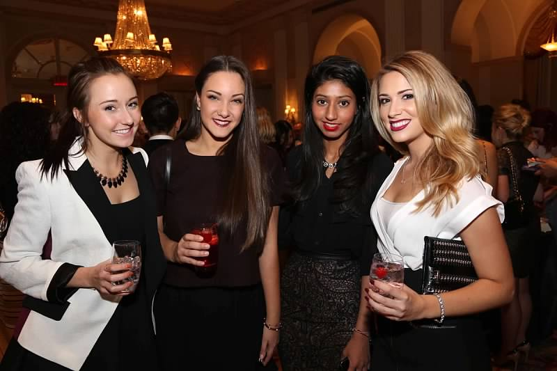 Samantha Rathman (right) at FSF Annual Awards Dinner in New York City (Courtesy of YMA)