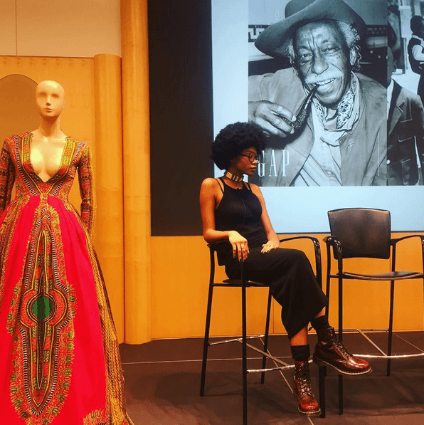 Kyemah McEntyre at the Gap Inc. and AANG event; Photo courtesy of Kyemah McEntyre