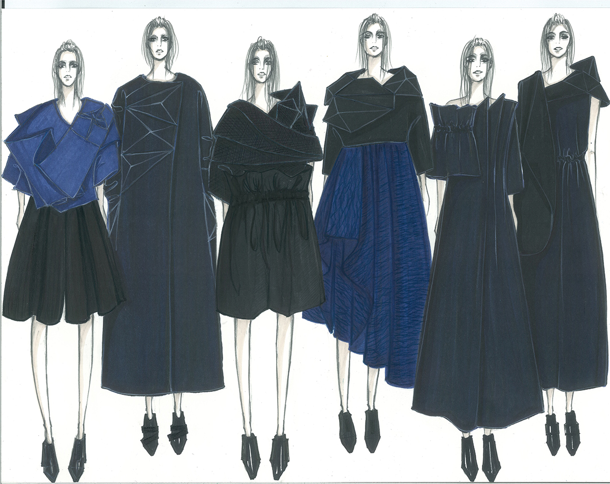 Illustrated lineup courtesy of Jiaqi Lu