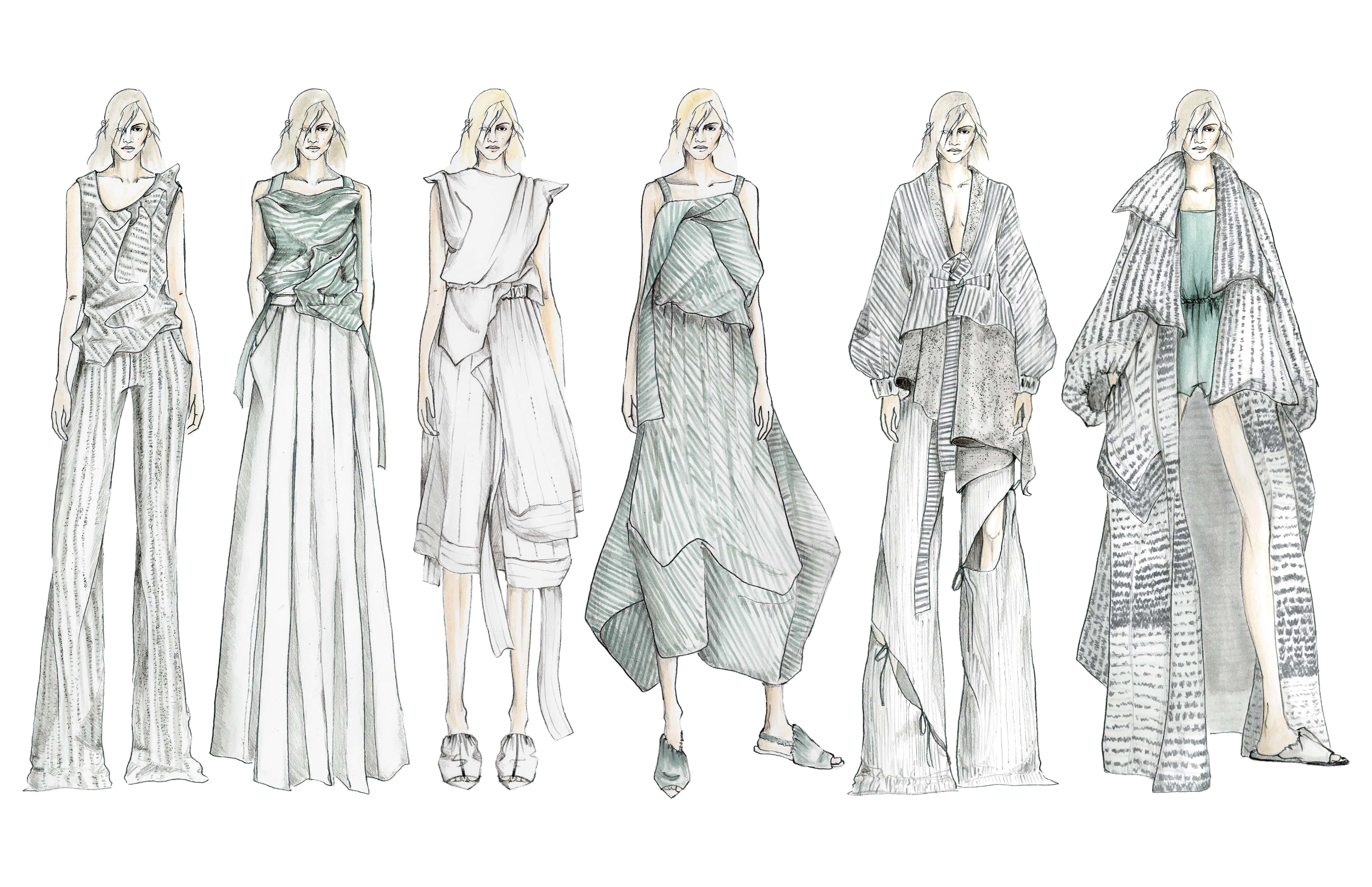 Illustrated lineup for the 2016 collection.