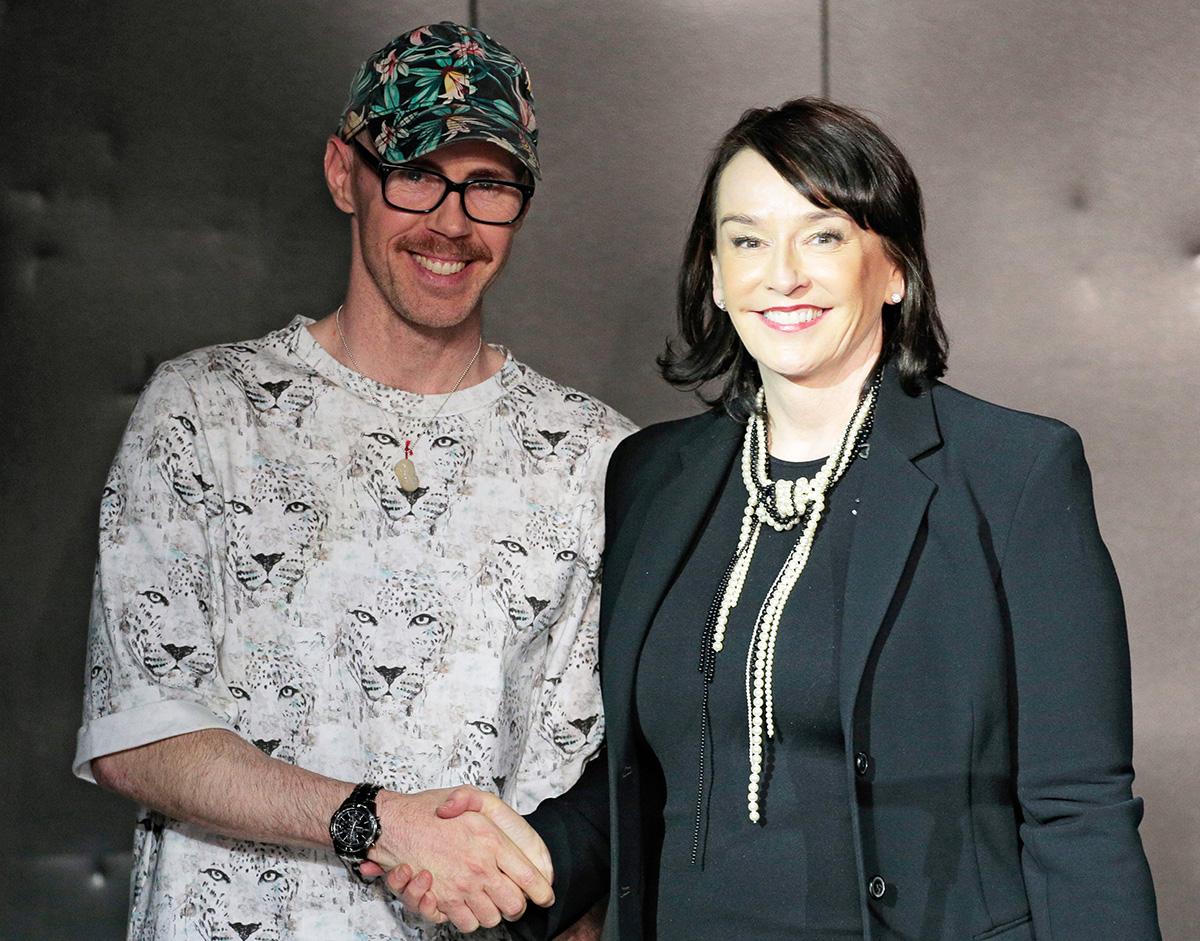 Ben Ellis and Elisa Stephens