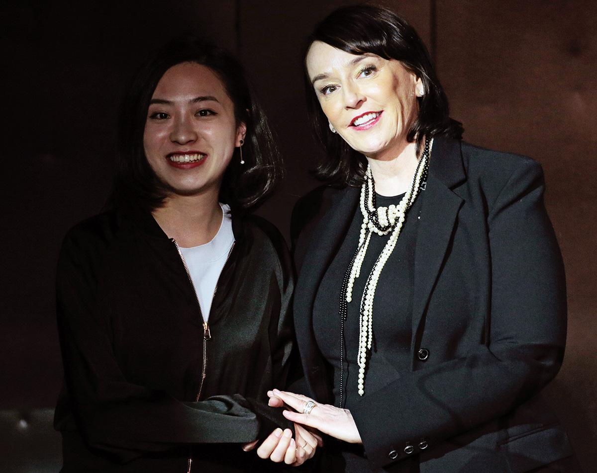 Bowen Tian and Elisa Stephens