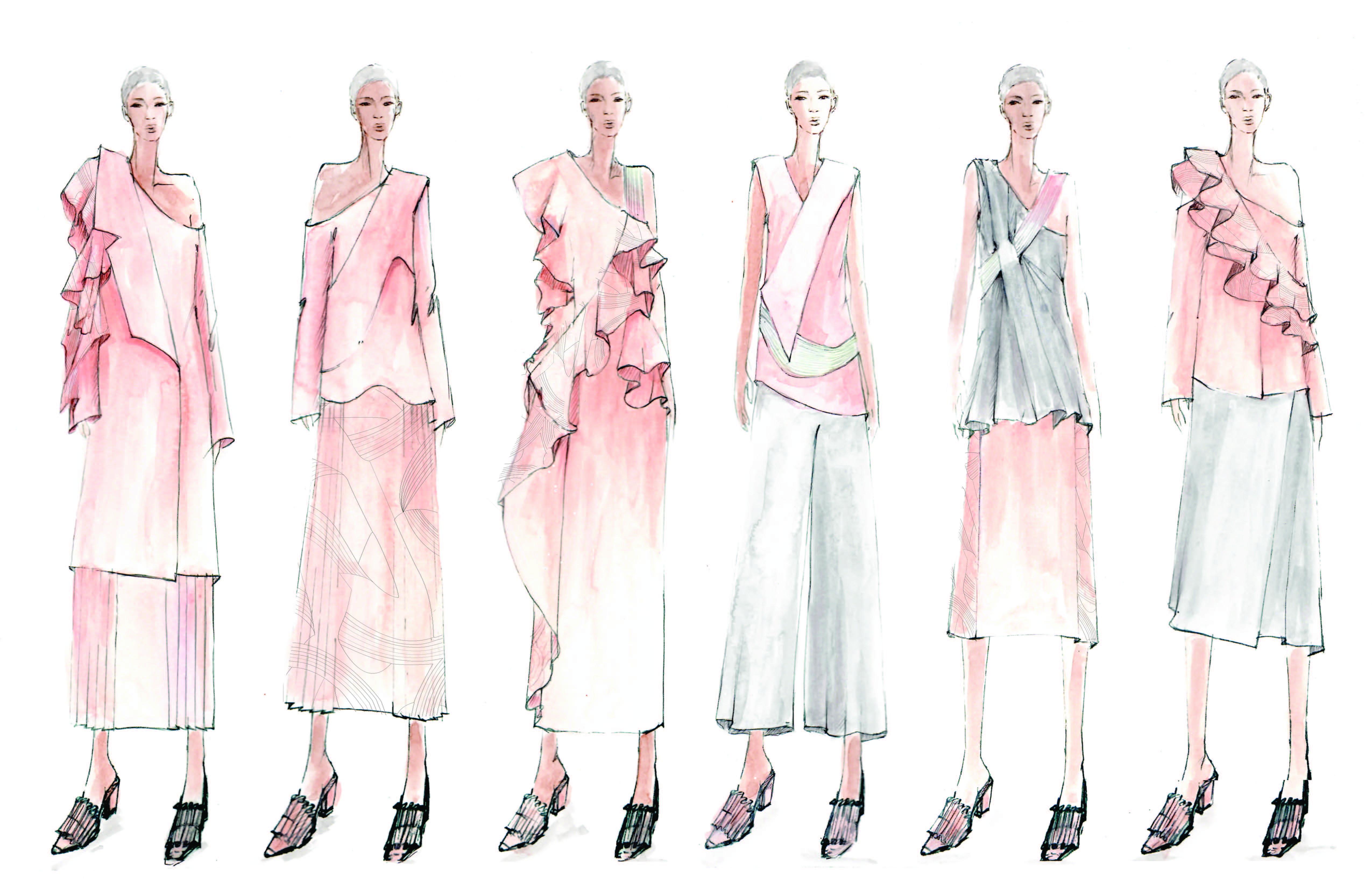 2016 Graduation Fashion Show Designers Sophie Cheng Fashion School Daily