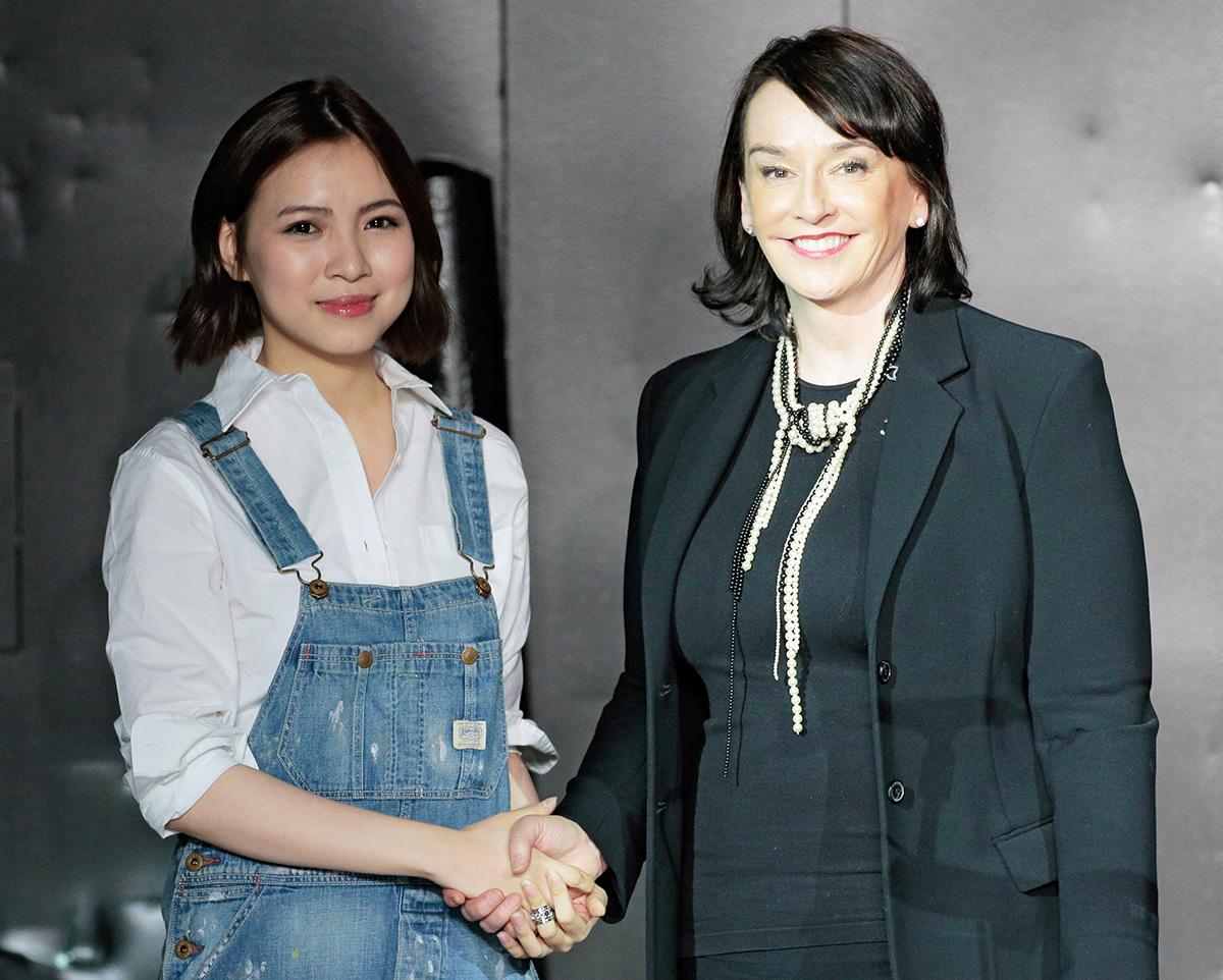 Uyen Chloe Tran and Elisa Stephens