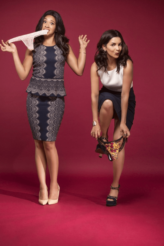 Gina Rodriguez, right, and Catalina Girald are the founders of Naja. Image: Forbes.com