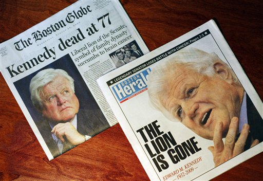 Obit Ted Kennedy