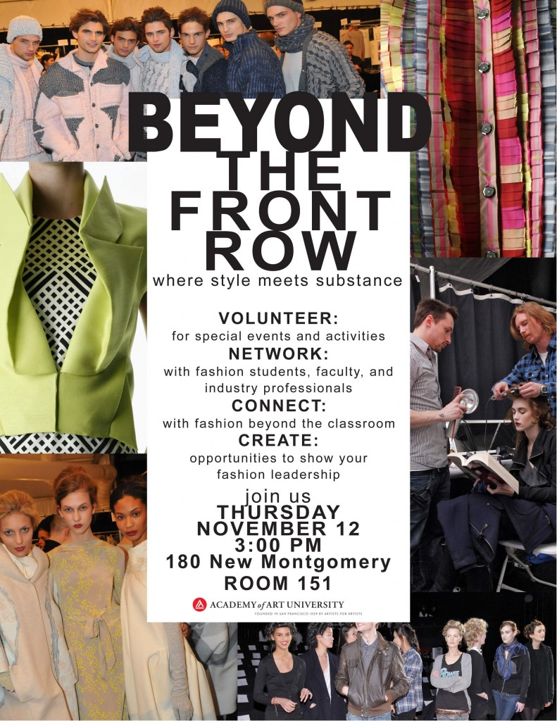 Beyond the Front Row