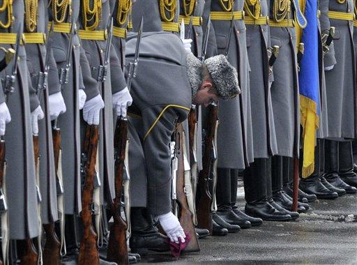 APTOPIX Ukraine Military