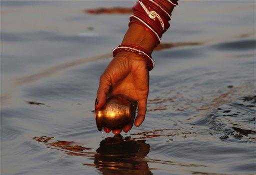 APTOPIX India World Water Day
