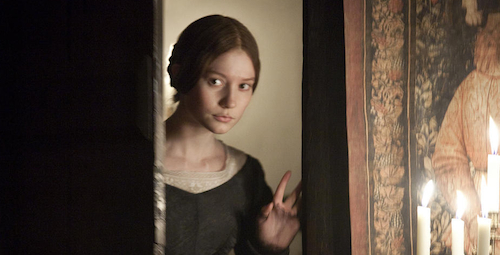 "Mia Wasikowska stars as the title character in ""Jane Eyre."""