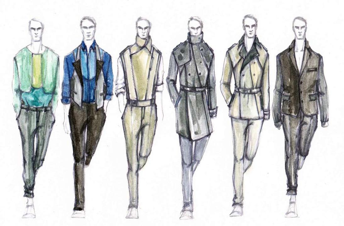 Meet Graduation Fashion Show men's wear designers Ashley ...