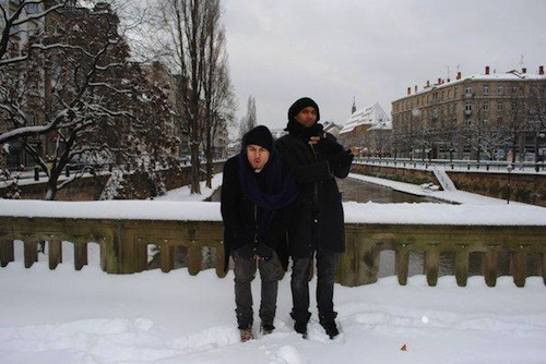 Ronnie and Ashon in Strasbourg