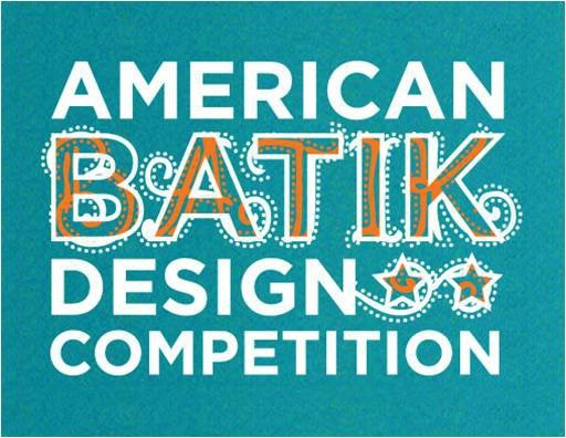 Poster graphic for Batik design competition