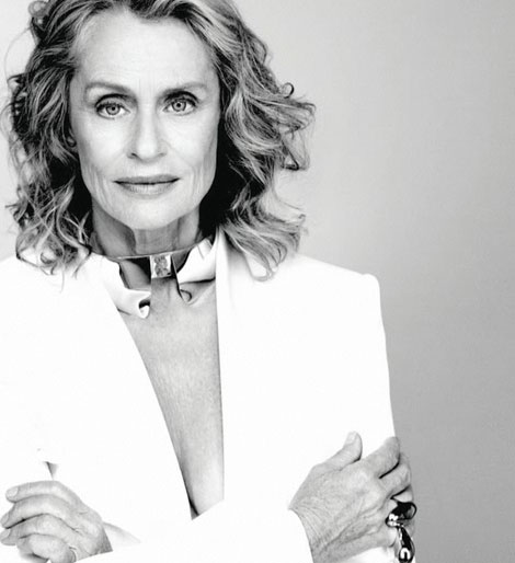 Lauren Hutton for Alexis Bittar
