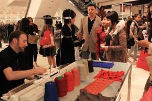 A Knitwear Demonstration