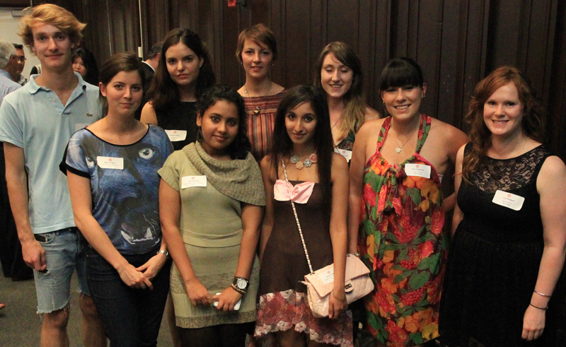 Top Row: Pierre Parent, Pauline Giraut, Sophie Littin, Hannah Tutton; Bottom Row: Marine Gabet, Uma Anupindi, Naoumi Tripathi, Sally Spackman, Liah Roebuck