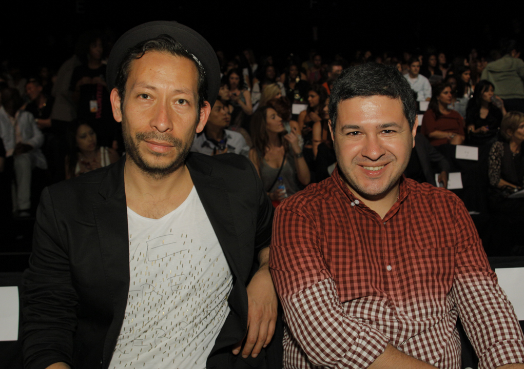 Stylists Gerardo Larrea and Toño Choy Kay
