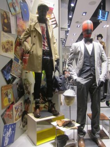 Men's Window at H&M
