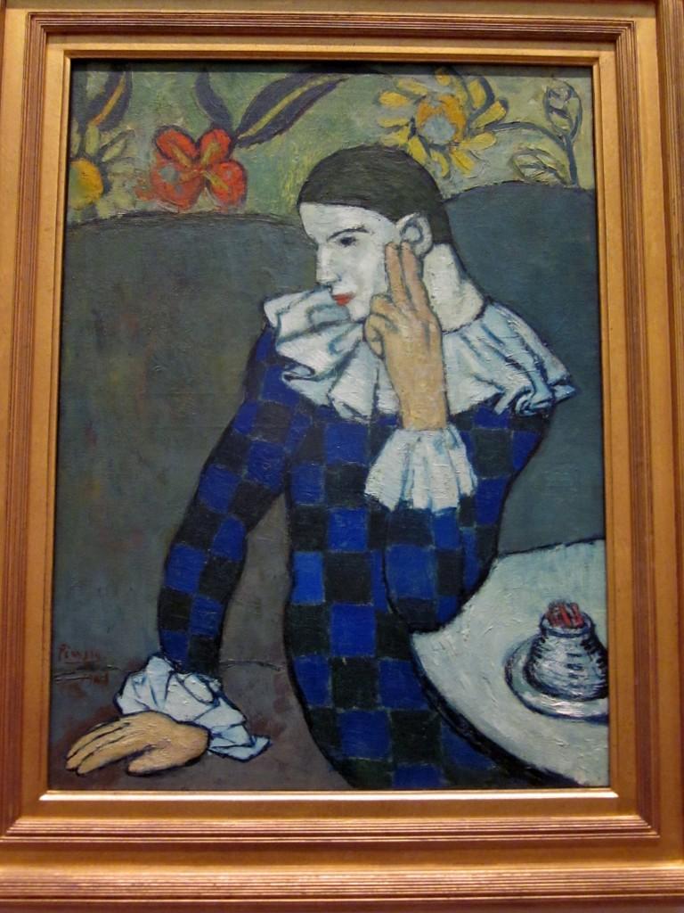 Pablo Picasso (1881 - 1973) Harlequin.