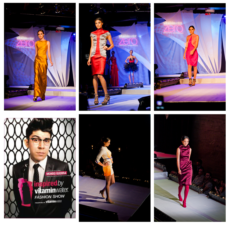 Colorful looks from the VitaminWater Inspired Collection by our talented students