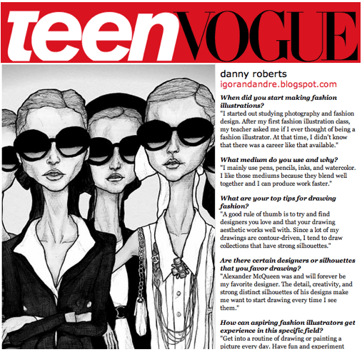 Danny Roberts Featured On Teen Vogue - Fashion School -5811
