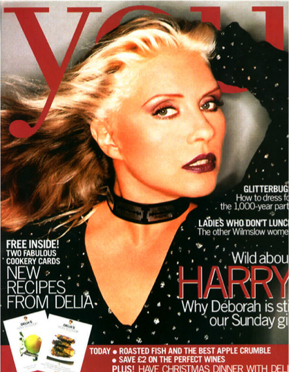 Debbie Harry on the cover of YOU