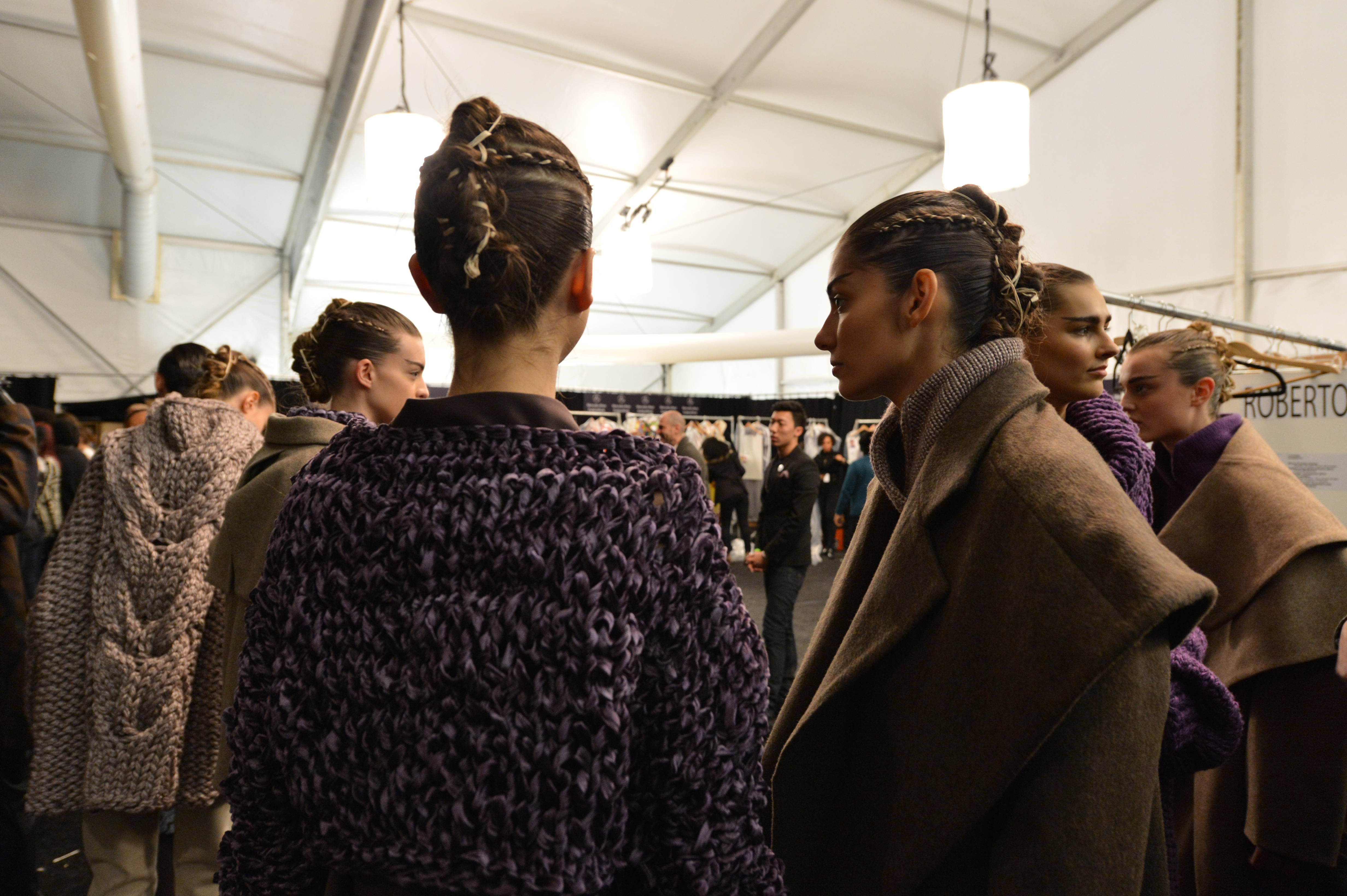 Academy of Art University Fall 2014 Collections - Backstage