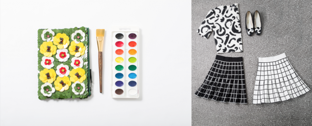 """""""Trend as inspiration: Art pop,"""" styled by Elizabeth Boyle, Jeanette Gutierrez, Marielle Sampaga"""
