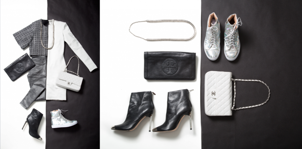 """Trend as inspiration: Black and white / day and night,"" styled by Melissa Stefanny, Damien Chandra and Bo Young Kong"