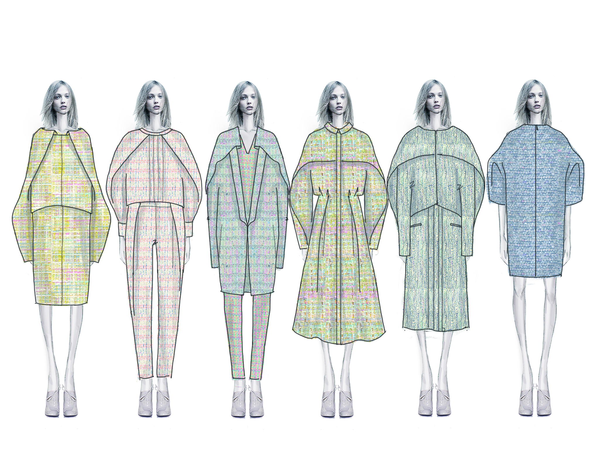 Line Art Fashion Design : Mbfw spring designer spotlight die zhou