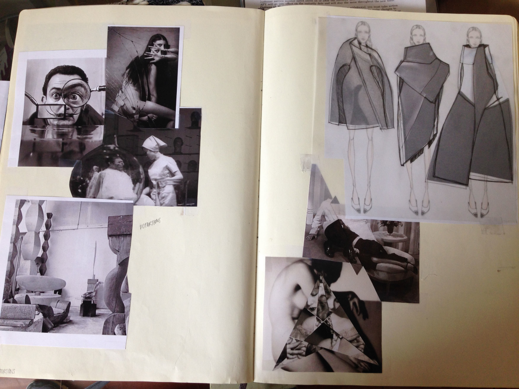 Inspiration and process for Detro's Spring 2015 Collection.