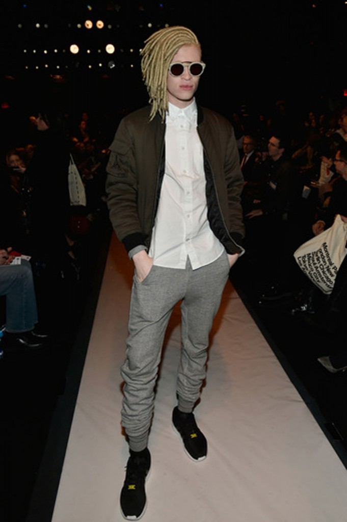 Model Shaun Ross.   Image: Getty Images