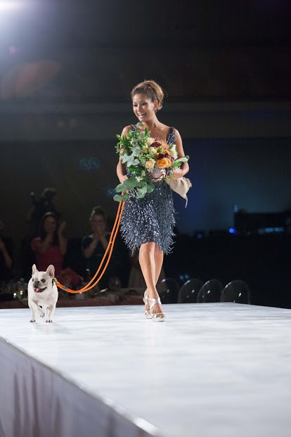 JLSF chair Lillian Phan closing the show with her beloved dog. Image:
