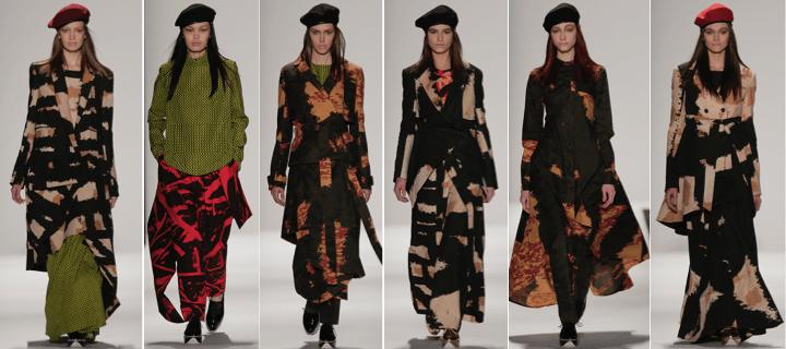 Fall 2015 collection by Emmanuelle Ciara Jones and Ghazaleh Khalifeh
