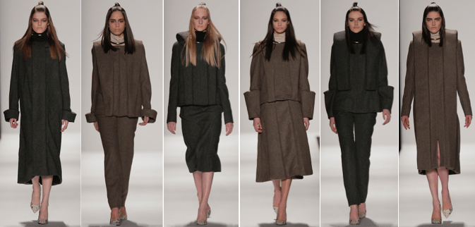 Fall 2015 collection by Christian Willman