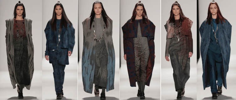 Fall 2015 collection by Han Tang and Tam Nguyen