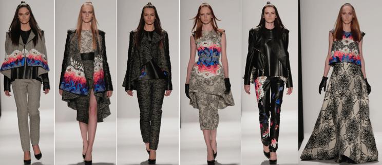 Fall 2015 collection by Paulina Susana Romero Valdez