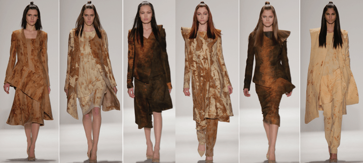 Fall 2015 collection by Ozanhan Kayaoglu