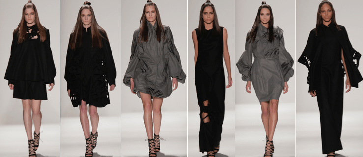 Fall 2015 collection by Farnaz Golnam