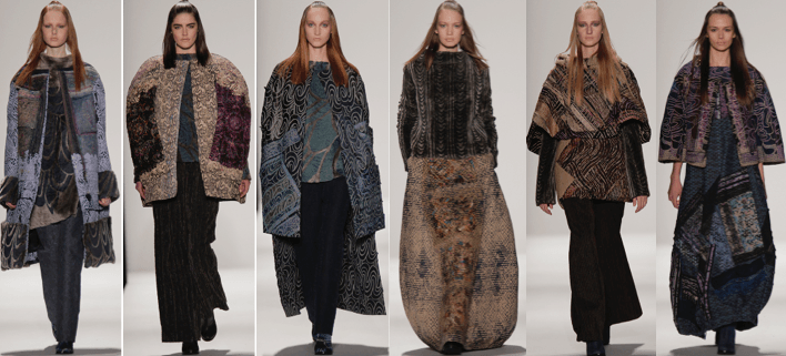 Fall 2015 collection by Xue Yang and Oom Terdpravat