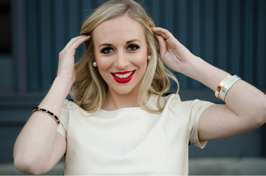 Caroline Curran, founder and owner of Perfect 10 blog. Image:courtesy of Sarah Lemp
