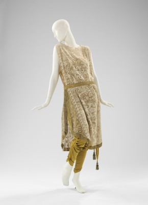 Callot Soeurs evening ensemble ca. 1910. Brooklyn Museum Costume Collection at The & The Brooklyn Museumu0027s Costume Collection Comes to San Francisco ...