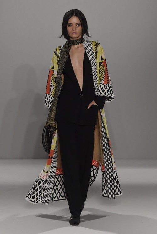 A look from Temperley London's F/W 2015 collection. Image: Women's Wear Daily