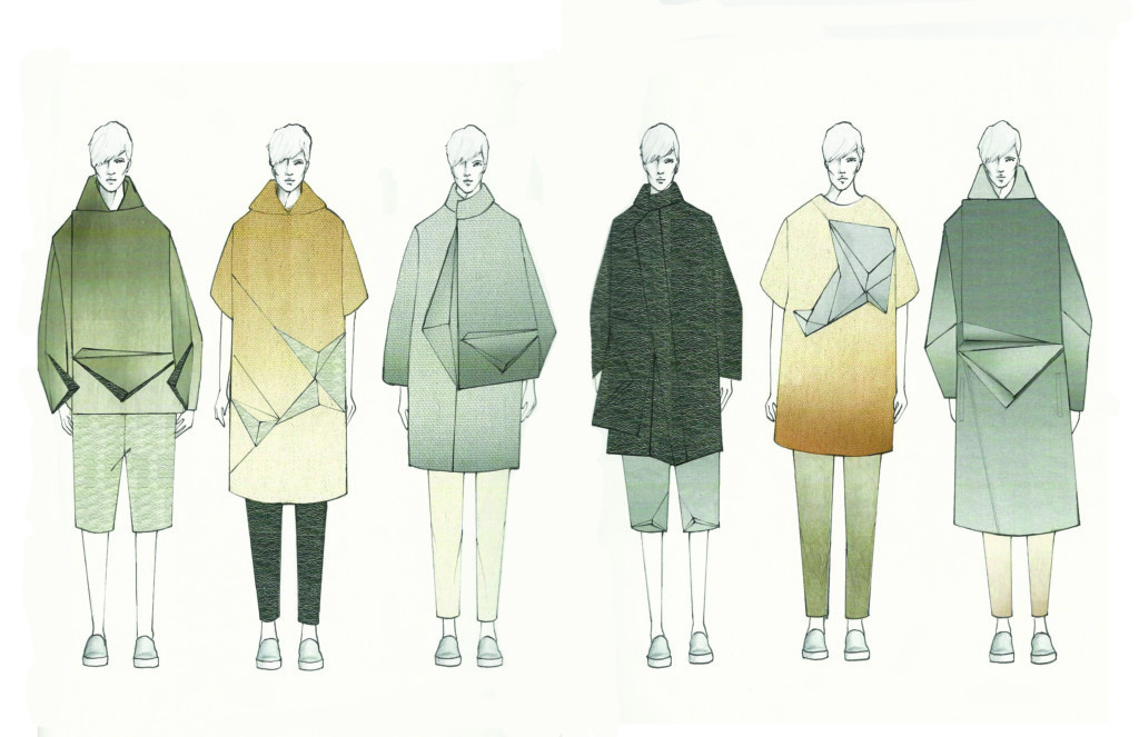 Illustrated lineup by Fei Lin.