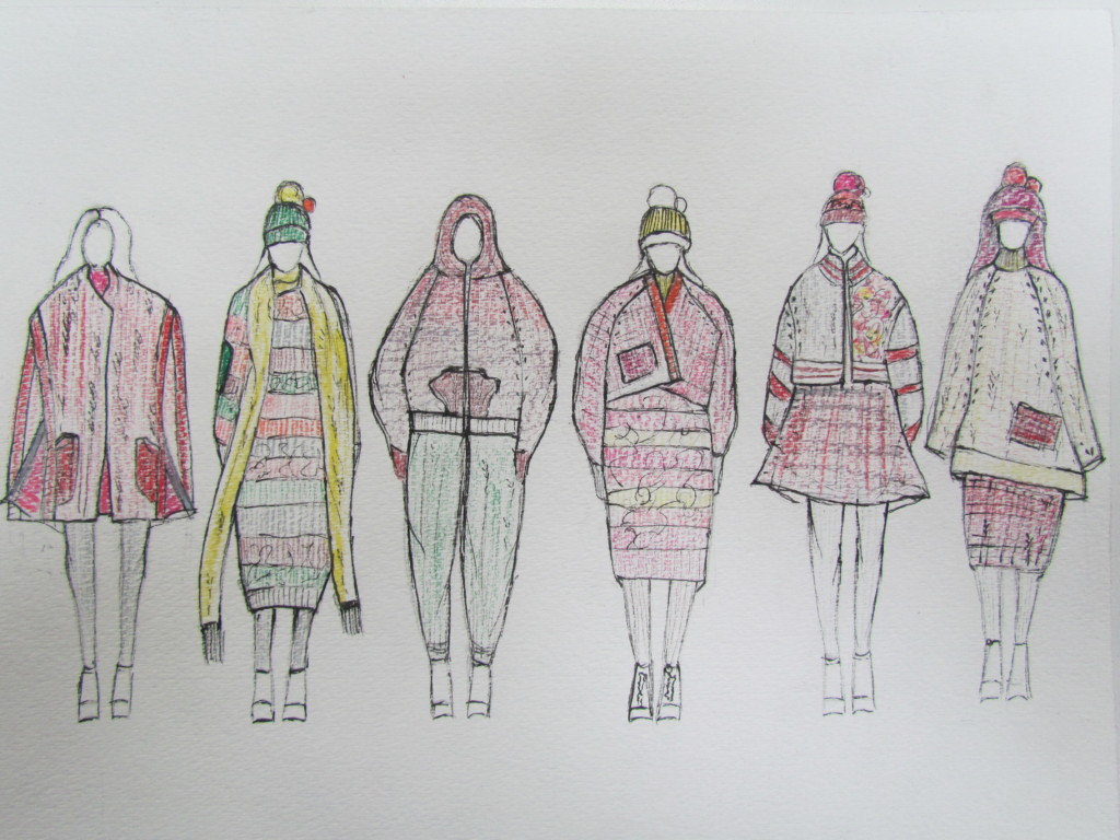 Gisel Ko's illustrated lineup.
